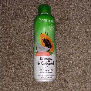 Pet shampoo and conditioner